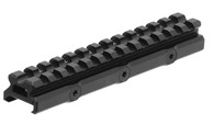 Leapers UTG Super Slim 20 MOA Elevated Picatinny Riser Mount (MT-RSX20MOA)