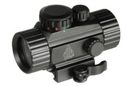 "Leapers UTG 3.8"" ITA Red/Green Circle-Dot Sight W/QD Integral Mount (SCP-RG40CDQ)"
