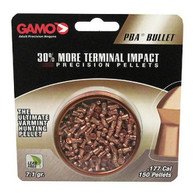 Gamo PBA Bullet .177 Caliber Lead Free Pellets-Tin of 150 (632272054)
