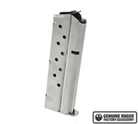 Ruger SR1911 Magazine 9mm 9 Round Factory Mag-Stainless (90600)