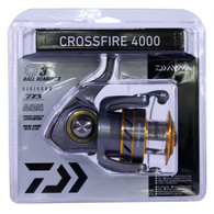Daiwa Crossfire 4000 Spinning Reel-FW/SW ML/L 5.3:1 (CROSSFIRE4000-CP)
