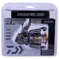 Daiwa Crossfire 2000 Spinning Reel-FW/SW L/UL 5.3:1 (CROSSFIRE2000-CP)