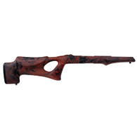 Hogue 10/22 Takedown Thumbhole Standard Barrel Rubber OverMolded Stock Red Lava-21062
