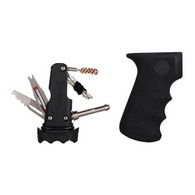Hogue AK-47 Rubber Grip w/Samson Field Survival Kit, Black-74012