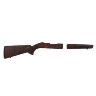 Hogue 10/22 Takedown Standard Barrel Rubber OverMolded Stock Red Lava-21042