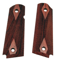 Hogue Colt & 1911 Government Grips Rosewood, Checkered-45911