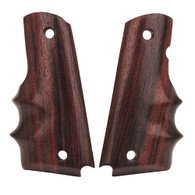 Hogue Colt & 1911 Government Grips Rosewood w/Finger Grooves-45900