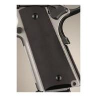 Hogue Colt & 1911 Government Grips Aluminum Matte Black Anodized-45160