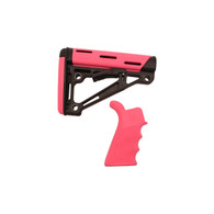 Hogue AR-15/M-16 Kit Pink, Rubber-15756