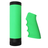 Hogue AR-15/M-16 Kit Overmolded Grip/Forend, Carbine Zombie Green-15019