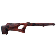 "Hogue 10/22 Takedown Thumbhole .920"" Diameter Barrel Rubber OverMolded Stock Red Lava-21072"