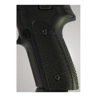 Hogue Sig P228/P229 Grips DAK, Checkered G-10 Solid Black-28159