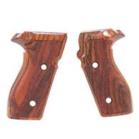 Hogue Sig P227 DA/SA Grips Kingwood, Checkered-47661