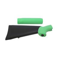 Hogue Mossberg 500 Overmolded Shotgun Kit, Zombie Green 05013
