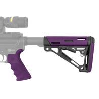 Hogue AR-15/M-16 Kit Mil-Spec, Purple, Rubber-15656