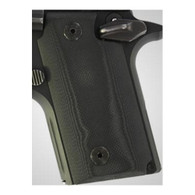 Hogue Sig P238 Grips G-10 Solid Black-38169