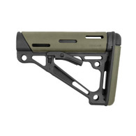Hogue AR15 Overmold Collapsable Buttstock Commerical Olive Drab Green-15250