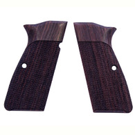 Hogue Browning Hi Power Grips Checkered Rosewood-09911