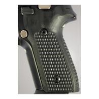 Hogue Sig P228/P229 Grips Pirahna G-10 Solid Black-28139