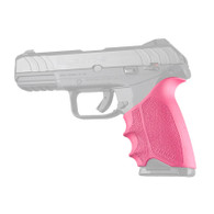 Hogue HANDALL Beavertail Rubber Grip Sleeve For Ruger Security-9-Pink (17707)
