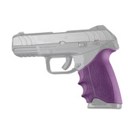 Hogue HANDALL Beavertail Rubber Grip Sleeve For Ruger Security-9-Purple (17706)