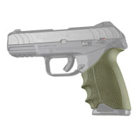 Hogue HANDALL Beavertail Rubber Grip Sleeve For Ruger Security-9-OD Green (17701)