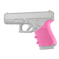 Hogue HANDALL Beavertail Rubber Grip Sleeve For Glock 19 GEN 1/2/5-Pink (17057)