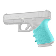 Hogue HANDALL Beavertail Rubber Grip Sleeve For Glock 19 GEN 1/2/5-Aqua (17054)