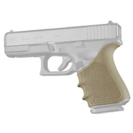 Hogue HANDALL Beavertail Rubber Grip Sleeve For Glock 19 GEN 1/2/5-FDE (17053)