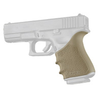 Hogue HANDALL Beavertail Rubber Grip Sleeve For Glock 19 GEN 3/4-FDE (17043)