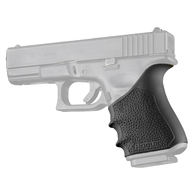 Hogue HANDALL Beavertail Rubber Grip Sleeve For Glock 19 GEN 3/4-Black (17040)