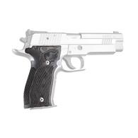 Hogue Sig P226 Grips DA/SA Allround Checkered G10 G-Mascus Black/Gray-23157