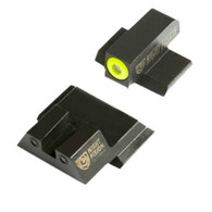 Night Fision Perfect Dot Night Sight Set For S&W M&P Shield  (SAW-202-007-YGZG)