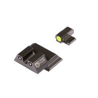 Night Fision Perfect Dot Tritium Night Sight Set For S&W M&P (SAW-201-007-YGZG)