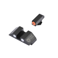 Night Fision Perfect Dot Tritium Night Sight Set For Glock Low (GLK-001-003-OGWG)