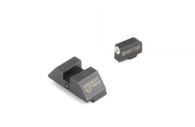 Night Fision Perfect Dot Accur8 Night Sight Set For Glock Low (GLK-001-015-WGZG)