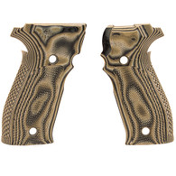 Hogue Sig P226 Grips DA/SA Allround Checkered G10 G-Mascus Green-23158