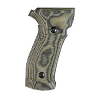 Hogue Sig P226 Grips DA/SA Magrip Checkered G10 G-Mascus Green-23178