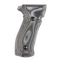 Hogue Sig P226 Grips DA/SA Magrip Checkered G10 G-Mascus Black/Gray-23177