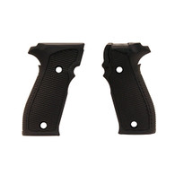 Hogue Sig P226 Grips DA/SA All Pirahna G10 Solid Black-23129