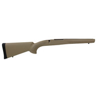 Hogue Rubber Overmolded Stock for Mauser 98 MilitarySporter, Actions Pillar Bed Stock, Flat Dark Earth-98300