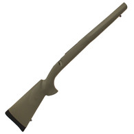Hogue Ruger 77 MKII Long Action Overmolded Stock Standard Barrel, Full Bed Block, Olive Drab Green-77203