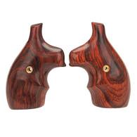 Hogue S&W J Frame Round Butt Grip Bantam, Coco Bolo-61850