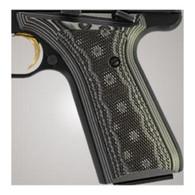 Hogue Browning BuckMark Grips Checkered G-10 G-Mascus Black/Gray-72177-BLKGRY