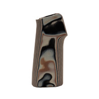 Hogue AR15/M16 15 Degree Vertical No Finger Groove Grip Smooth, G10 G-Mascus, Dark Earth-13747