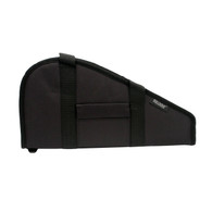 Bulldog Cases Pistol Rug Case W/Pocket & Handles-Large-Black (BD602)