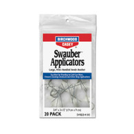 Birchwood Casey Swauber Applicators-Pack of 20 (41110)