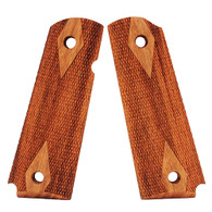 Hogue Colt & 1911 Government Grips Goncalo Alves, Checkered-45211