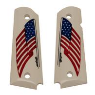 Hogue Scrimshaw Grips American Flag-45022