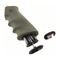 Hogue AR-15 Rubber Grip w/Storage Kit Olive Drabe Green-15011